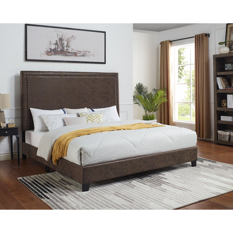 Red Barrel Studio Debbra Upholstered Standard Bed Reviews Wayfair