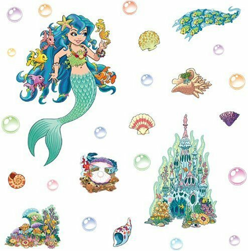 Mermaid Themed Wall Decal Part 40