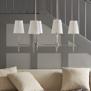 Madison Park Signature Arbor 6-Light Shaded Chandelier