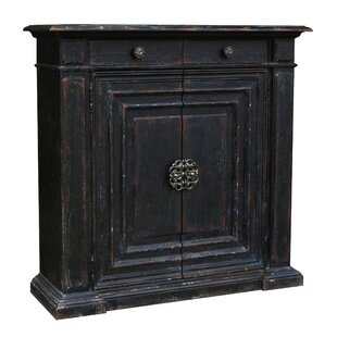 Fleur De Lis Living Brino 2 Drawer Accent Cabinet