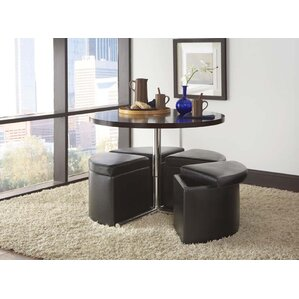 Cosmos Coffee Table with Ottoman (Set of 4) ..