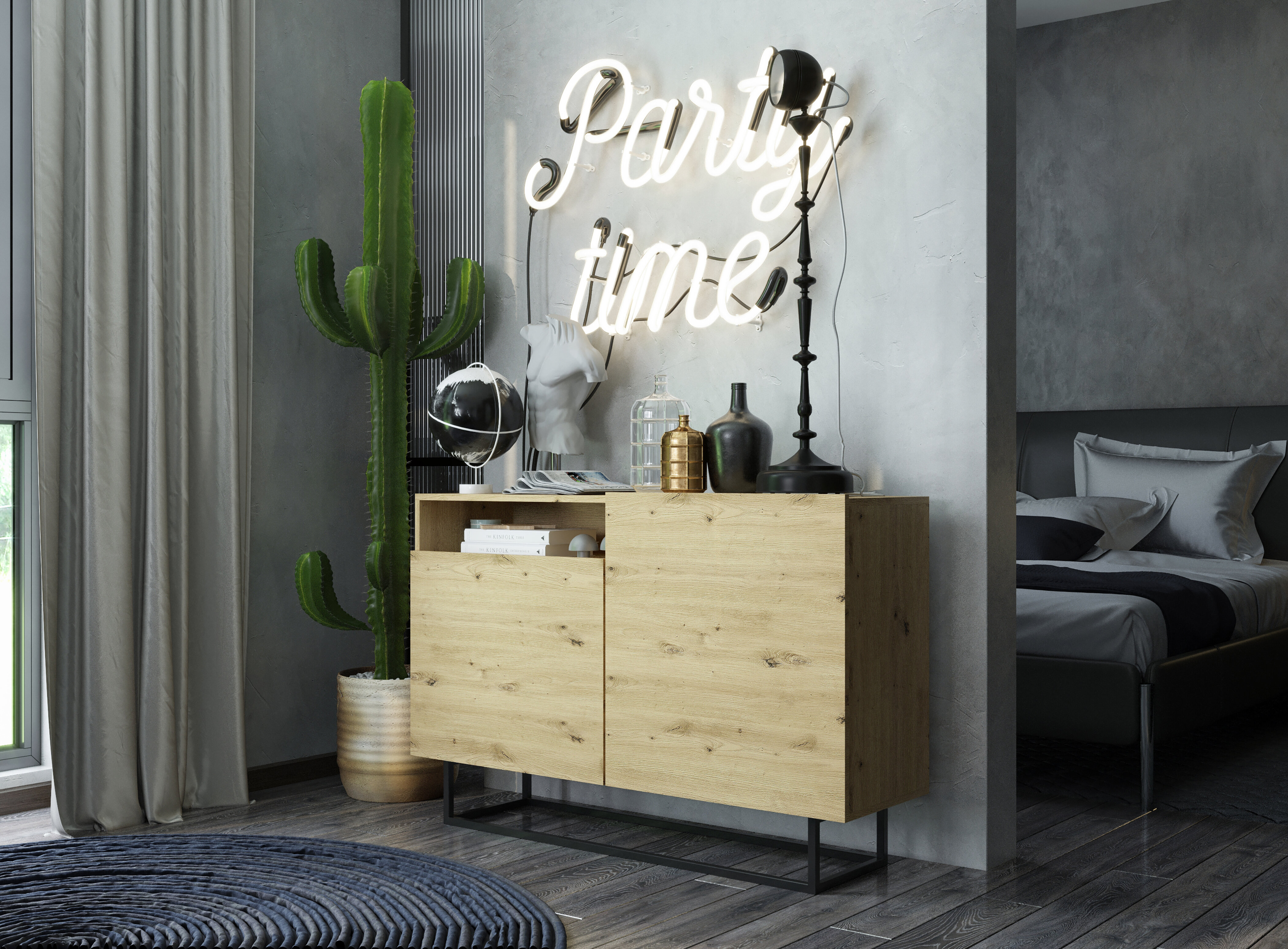 Ebern Designs Sideboard Debby Bewertungen Wayfair De
