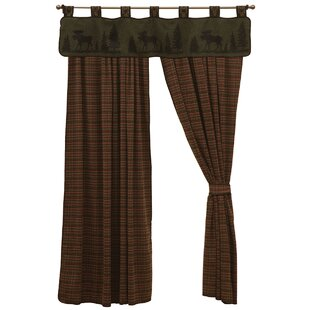 Moose Tab Top 60 Window Valance by Wooded River
