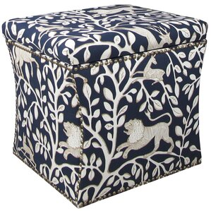 Agatha Nail Button Storage Ottoman by Darby Home Co
