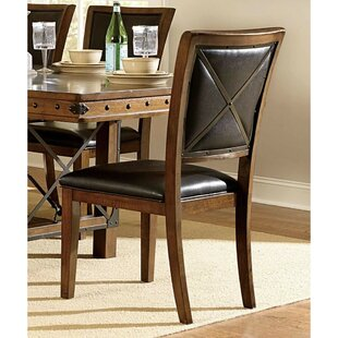 Syrna Upholstered Dining Chair (Set of 2) Loon Peak