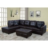 Amri 103.5 Sectional with Ottoman by Latitude Run