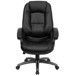 Shop For Brookline High-Back Executive Chair by Red Barrel Studio