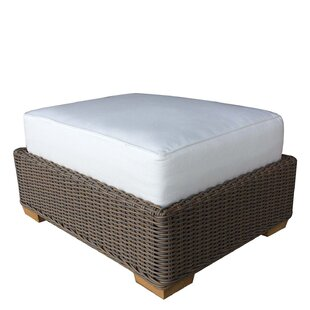 Hobson Outdoor Ottoman with Cushion