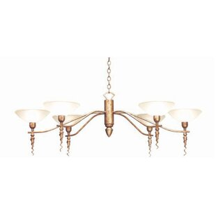 2nd Ave Design Blanca 6-Light Shaded Chandelier