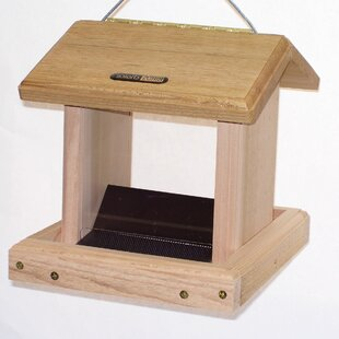 Birds Choice 2.50 Quart 2-Sided Hopper Bird Feeder