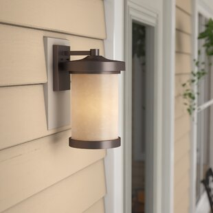 Thorpe 1-Light LED Outdoor Sconce by Alcott Hill