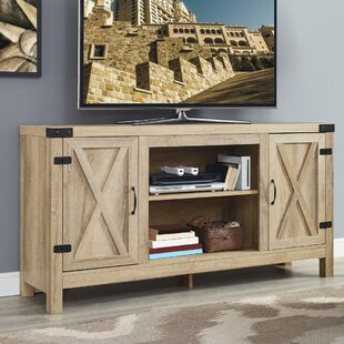 Savings Quance Blonde TV Stand for TVs up to 75 by Loon Peak Reviews (2019) & Buyer's Guide