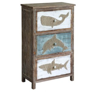 Longshore Tides Forbes Rustic Shark Accent Chest