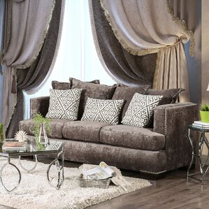 Georgia Transitional Sofa by House of Hampton