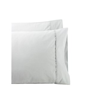 Rosecliff Heights Cournoyer Pleat Hem 300 Thread Count Percale Sheet Set