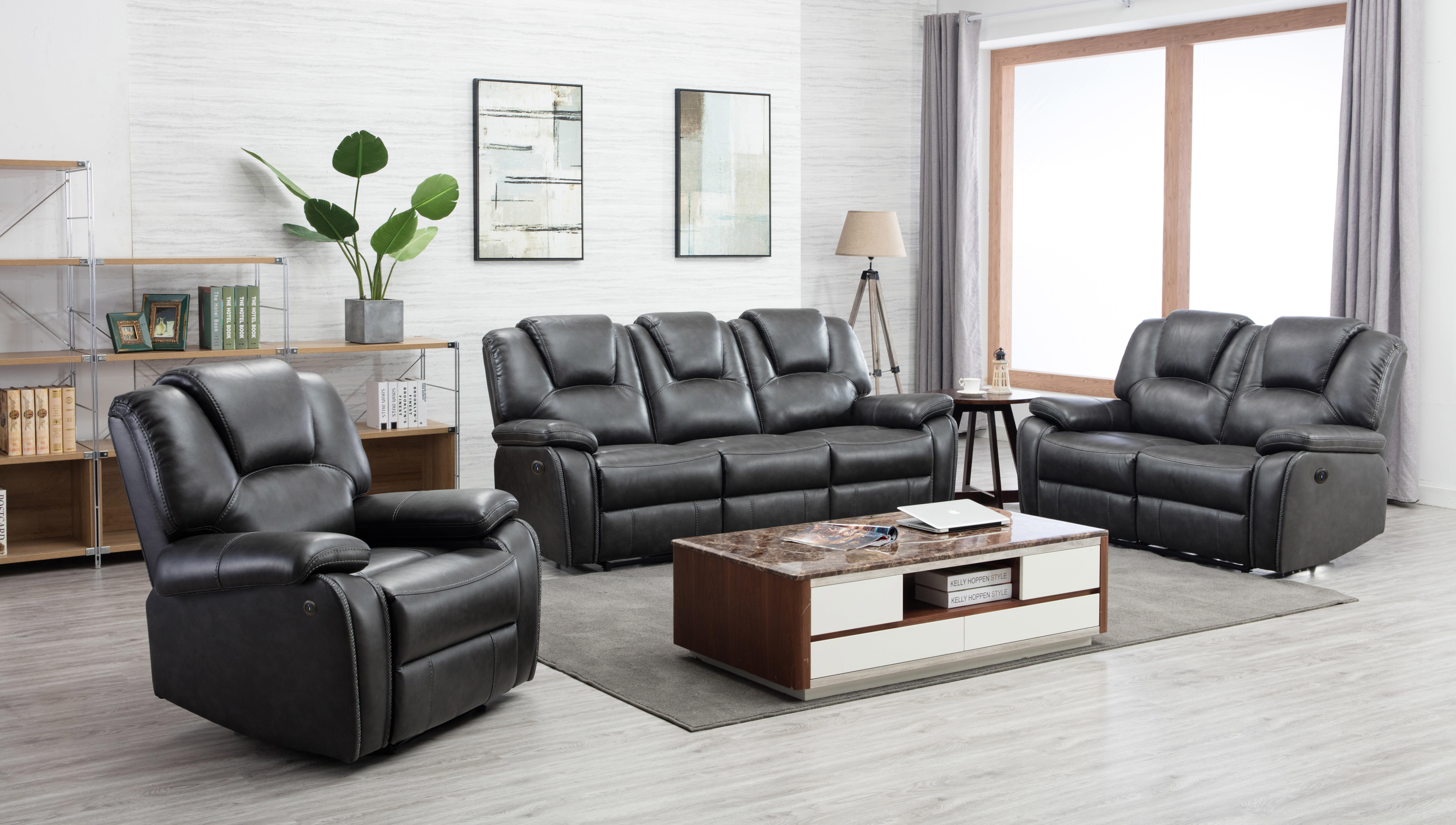 Latitude Run® Demster 3 Piece Reclining Living Room Set & Reviews