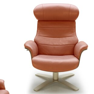 Affordable Price Dakota Swivel Lounge Chair and Ottoman by Corrigan Studio