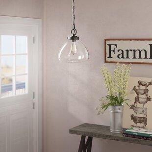 Lakeshore 1-Light Schoolhouse Pendant by Laurel Foundry Modern Farmhouse