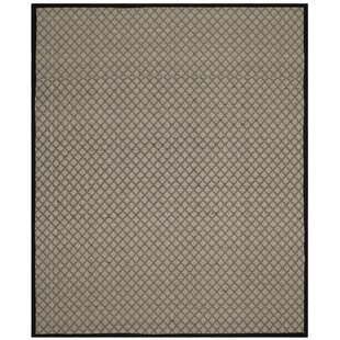 Doyle Ivory/Black Indoor/Outdoor Area Rug by Winston Porter