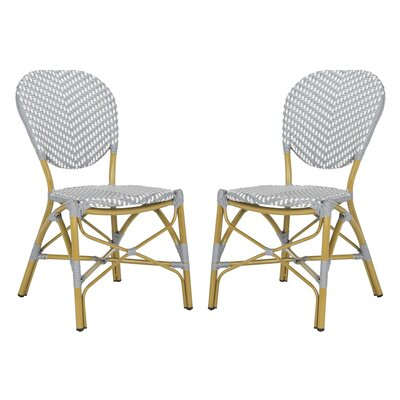 Bungalow Rose Lintgen French Stacking Patio Dining Chair