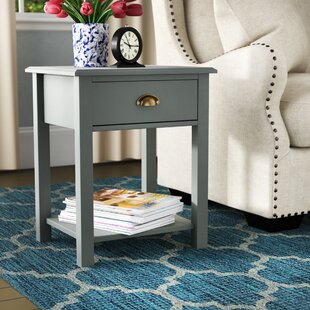 Salley End Table by Charlton Home
