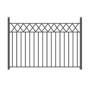 Stockholm Steel Fence Panel