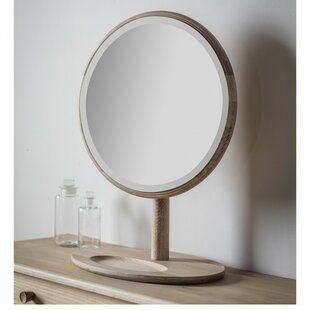 Delightful Adame Round Dressing Table Mirror