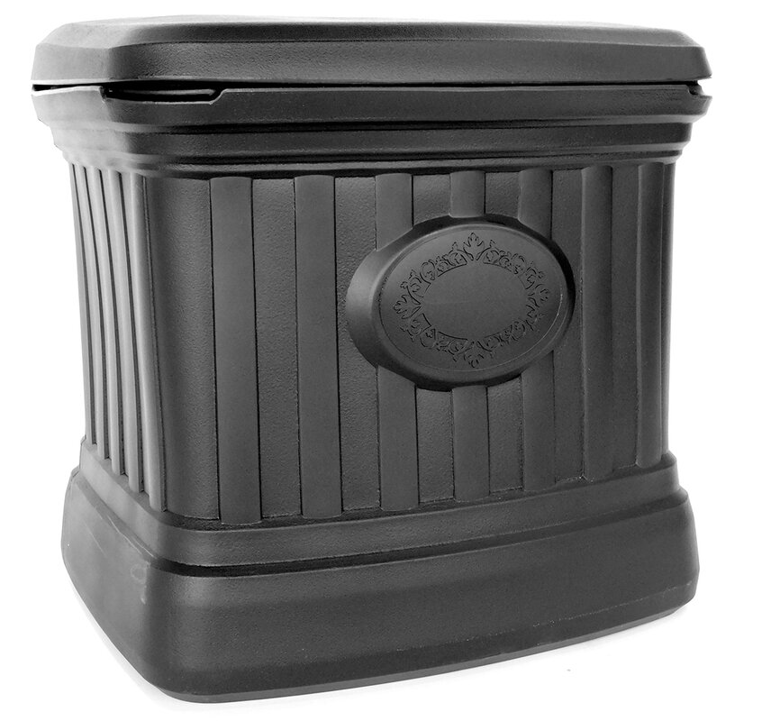 Forest City Models and Patterns Salt and Sand 20 Gallon Plastic Deck Box