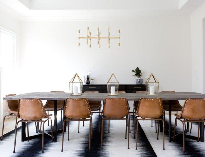 Bold Dining Room Rug