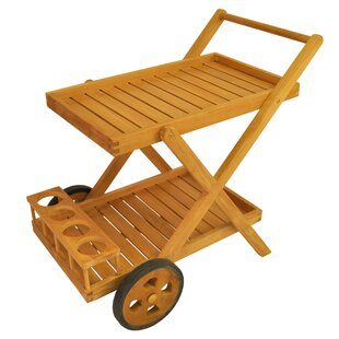 Cobana Teak Bar Serving Cart by Anderson Teak