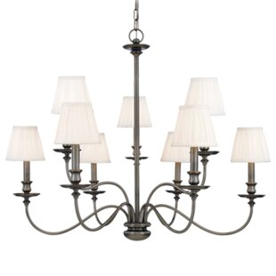 Darby Home Co Jil 9-Light Shaded Chandelier