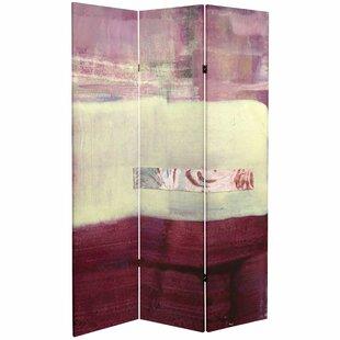 Nieves 3 Panel Room Divider by Mercer41