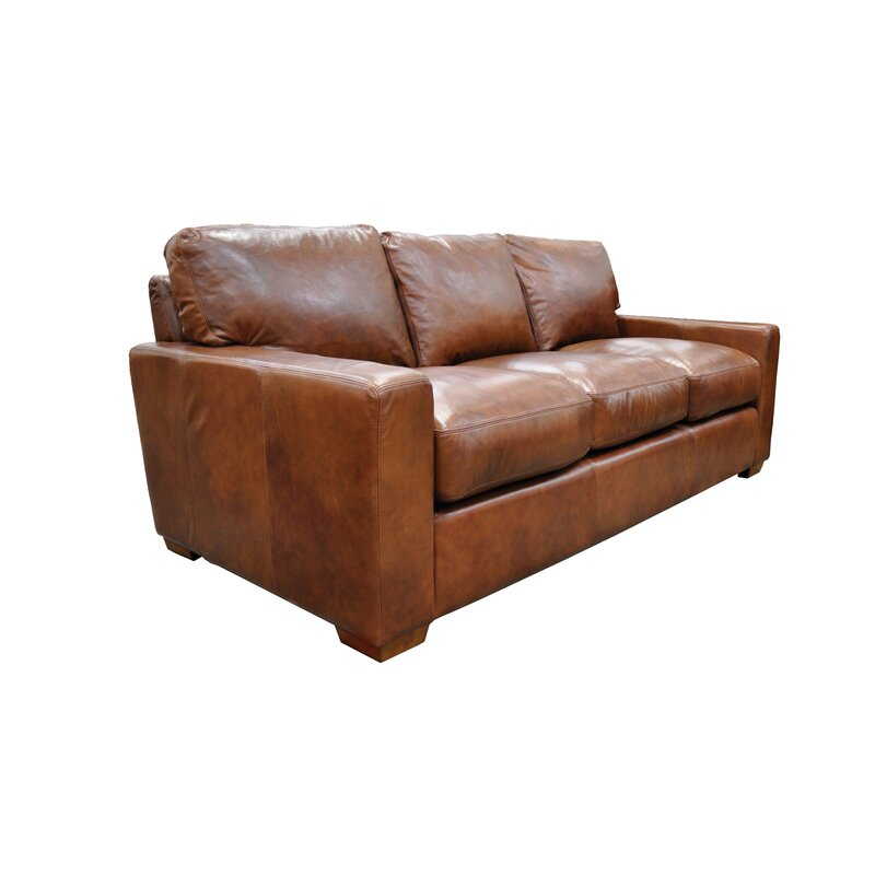 Omnia Leather City Craft Sofa Bed & Reviews   Wayfair