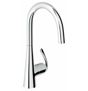 Grohe Ladylux3 Touch Pull Down Single Handle Kitchen Faucet with SilkMove®