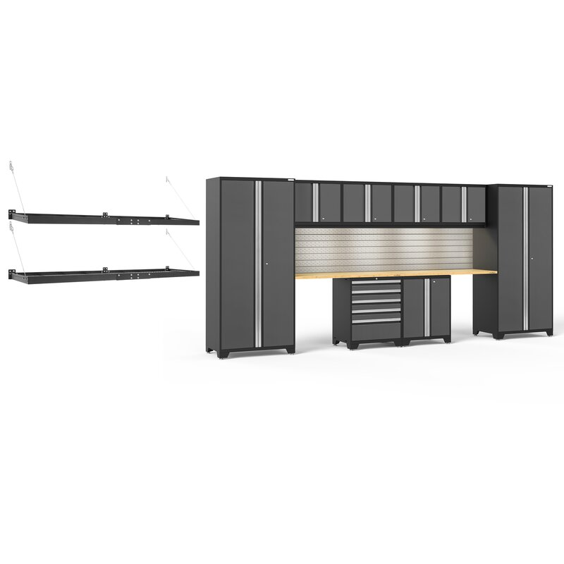 Newage Products Pro Series 3 0 Grey 10 Piece Cabinet Set Wayfair Ca