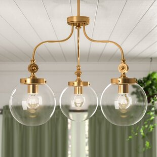 Birch Lane? Heritage Wyndam 3-Light Shaded Chandelier