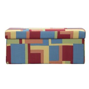 Paint Box Storage Ottoman