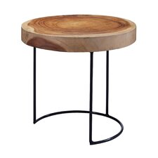 Sunset Rock End Table by Loon Peak