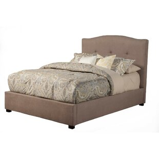 Fancher Poplar Wood Tufted Upholstered Panel Bed by Darby Home Co