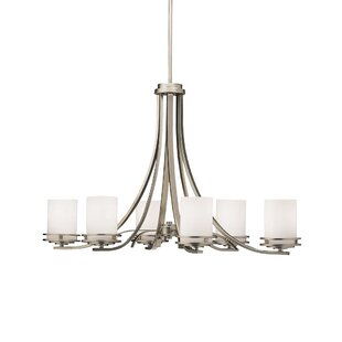 Andover Mills Clarkshire 6-Light Shaded Chandelier