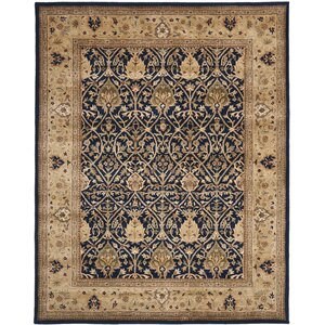 Empress Handmade Blue/Gold Area Rug
