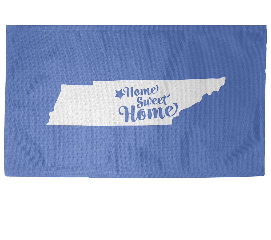 East Urban Home Home Sweet Nashville Blue Area Rug Wayfair