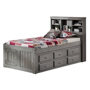 Best Reviews Dave Twin Mate's & Captain's Bed with 12 Drawers By Harriet Bee