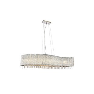 House of Hampton Downes 8-Light Crystal Chandelier