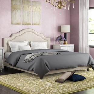 Deeanna Traditional Upholstered Panel Bed by Willa Arlo Interiors