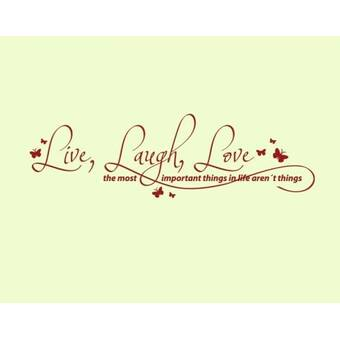 Style and Apply Live, Laugh, Love Quote Wall Decal & Reviews ...
