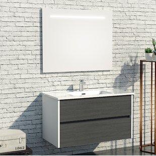 Adelaide 1000mm Wall Mounted Vanity Unit by Belfry Bathroom