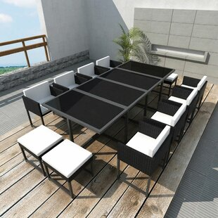 Weldin 12 Seater Dining Set With Cushions Image