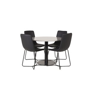 Bakewell Dining Set With 4 Chairs By Ebern Designs