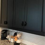 76mm 10-Pack //3-3//4-Inch Flat Black Franklin Brass P40833K-FB-C Dual Mount Half Diamond Kitchen or Furniture Cabinet Hardware Drawer Handle Pull 3-Inch 96mm